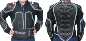 Wulfsport Kids Cub Full Deflector MX Jacket